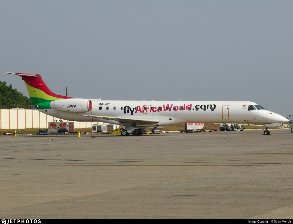 9G-AFB  - Embraer ERJ-145LI - Africa World Airlines