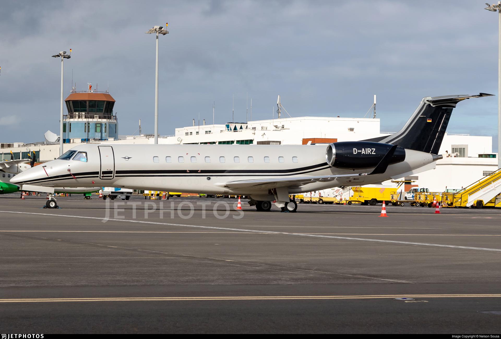 D-AIRZ - Embraer ERJ-135BJ Legacy 650E - Air Hamburg