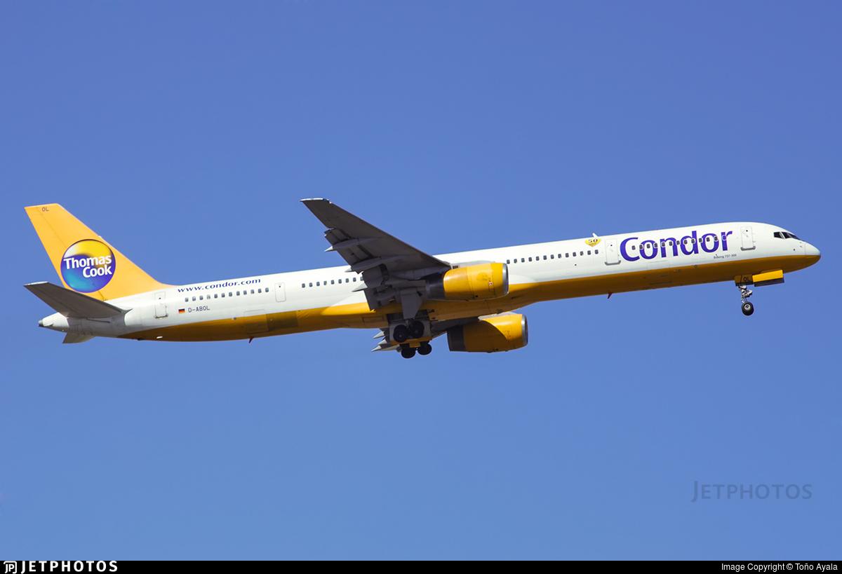 D-ABOL - Boeing 757-330 - Condor