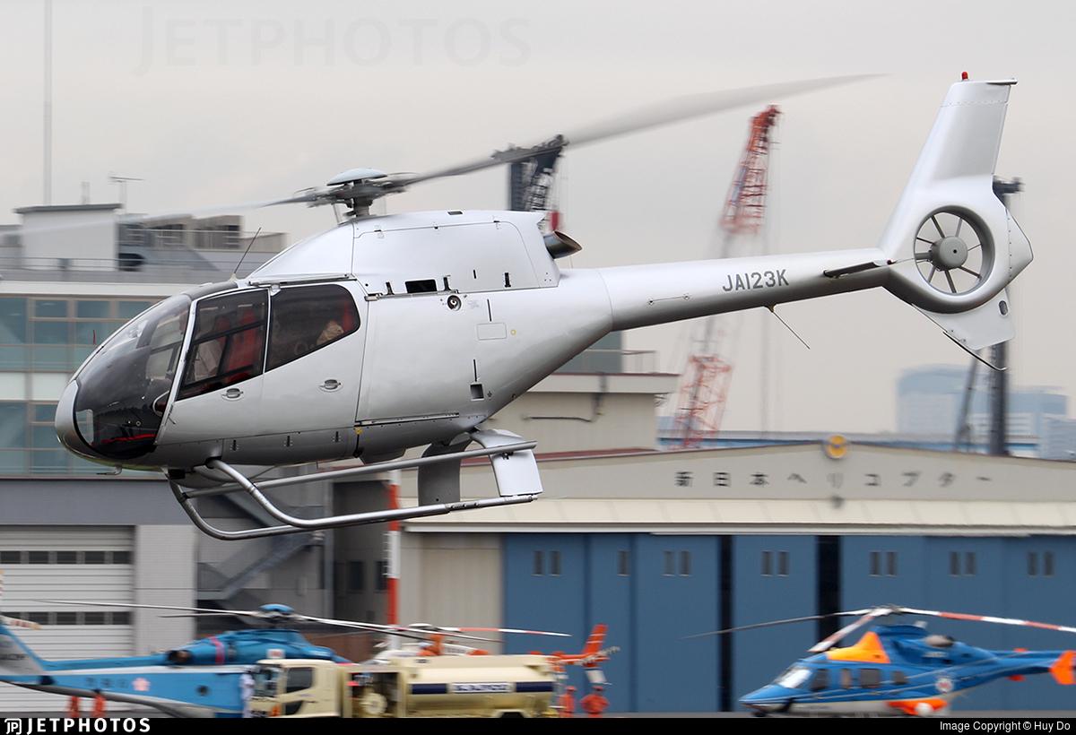 JA123K - Eurocopter EC 120B Colibri - Private