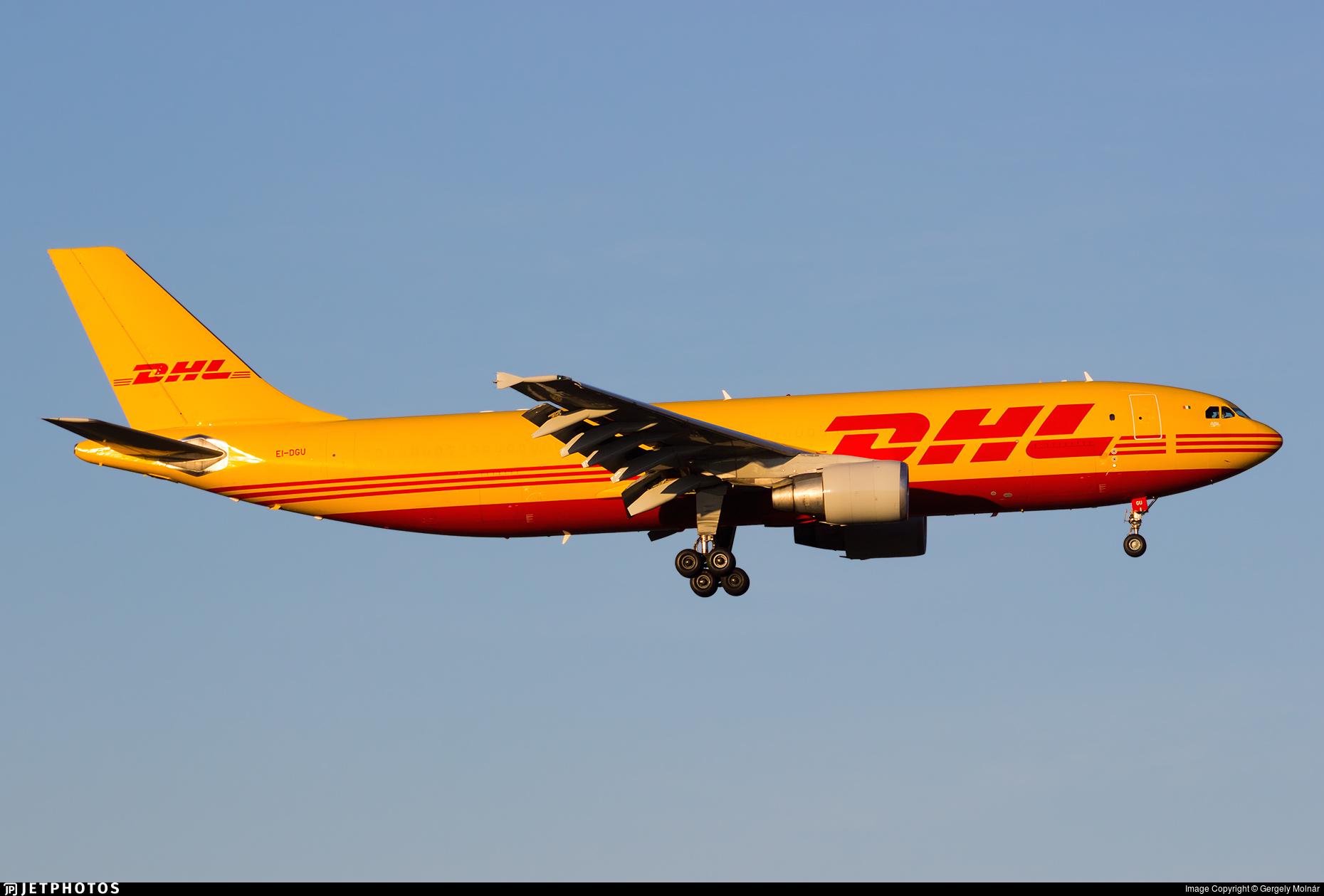 EI-DGU - Airbus A300B4-622R(F) - DHL (ASL Airlines)