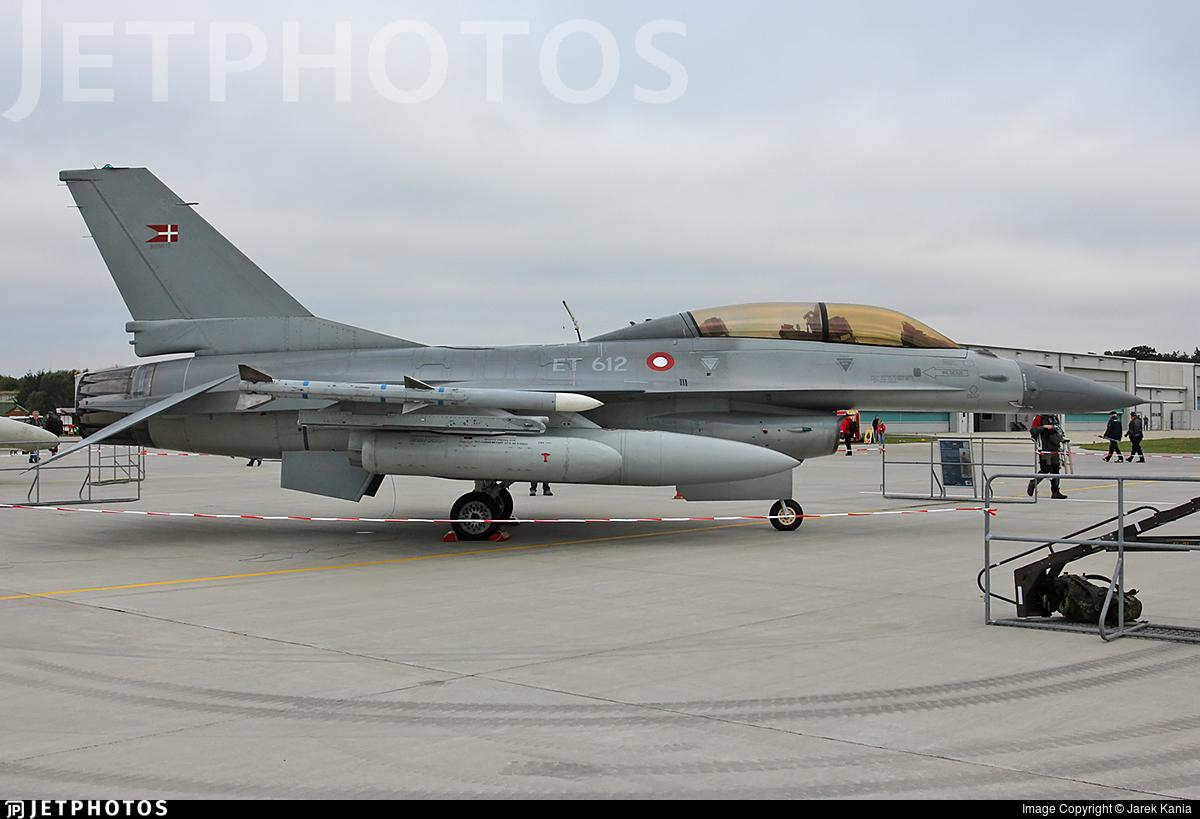 ET-612 - General Dynamics F-16BM Fighting Falcon - Denmark - Air Force