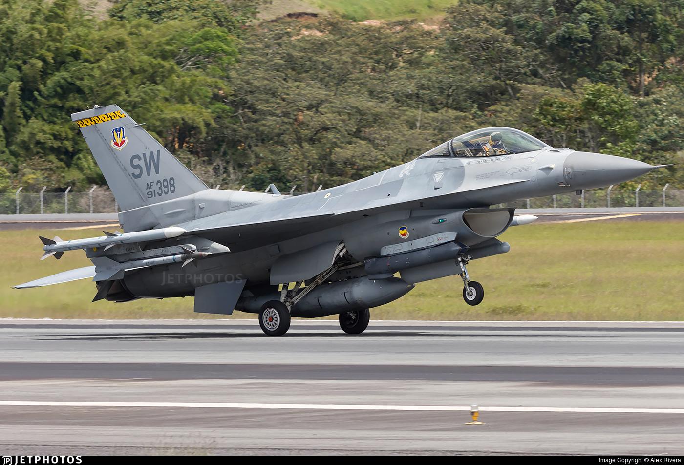 91-0398 - Lockheed Martin F-16C Fighting Falcon - United States - US Air Force (USAF)