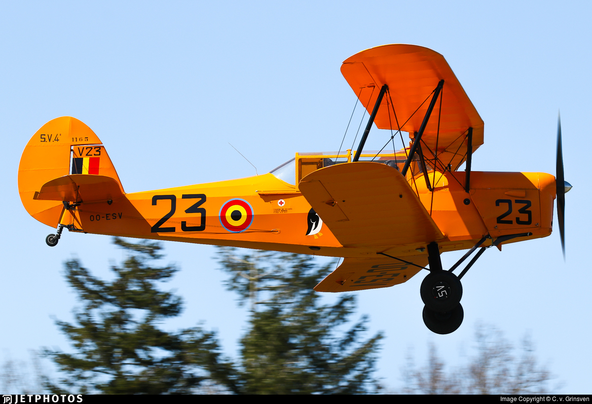 OO-ESV - Stampe and Vertongen SV-4B - Private
