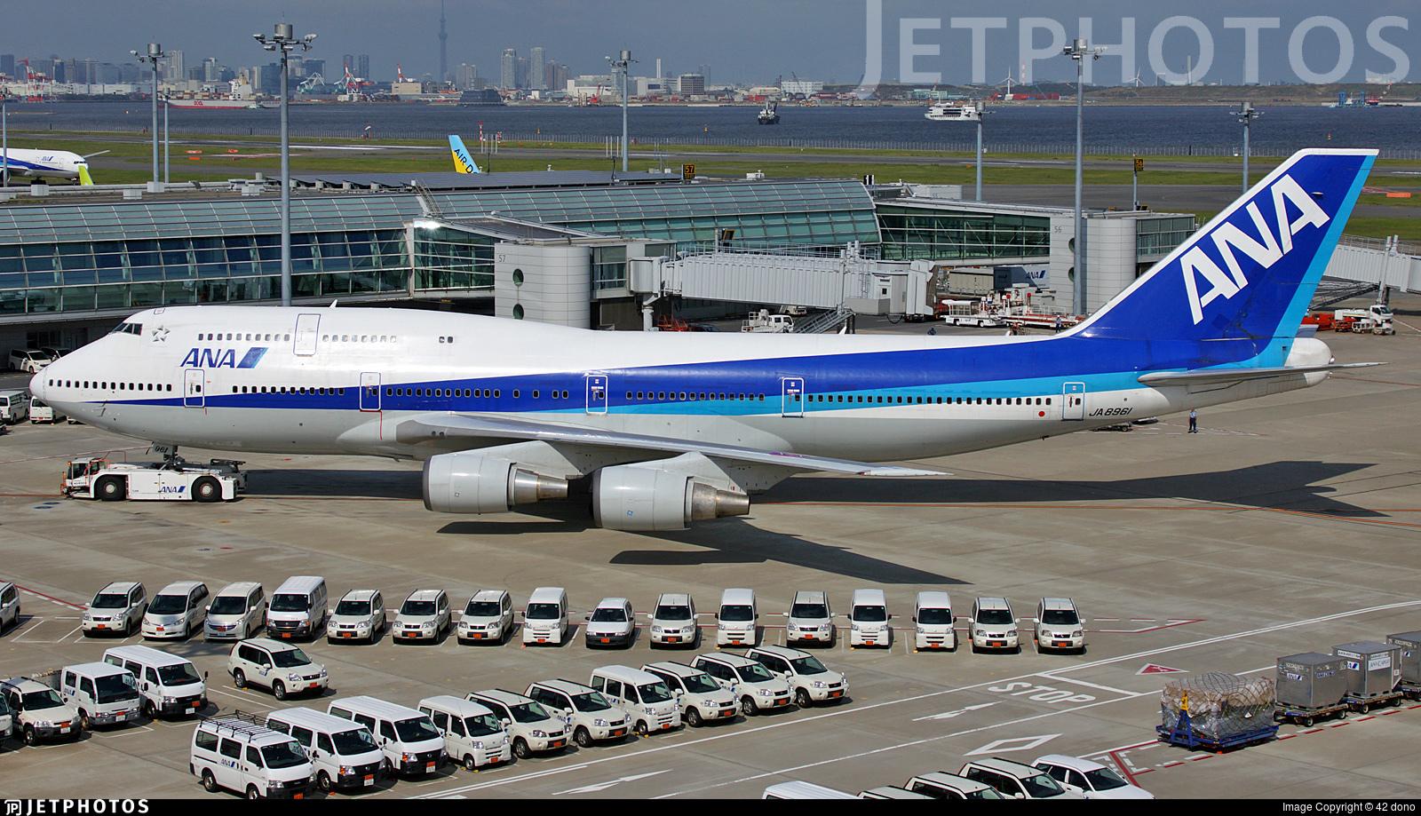 JA8961 - Boeing 747-481D - All Nippon Airways (ANA)