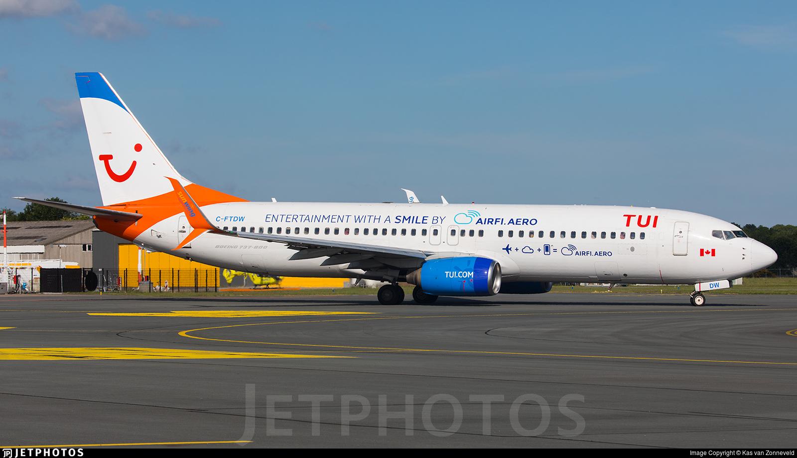 C-FTDW - Boeing 737-808 - TUI (Sunwing Airlines)