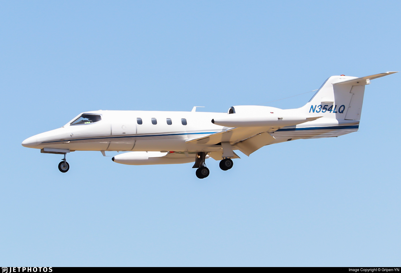 N354LQ - Gates Learjet 35A - Private
