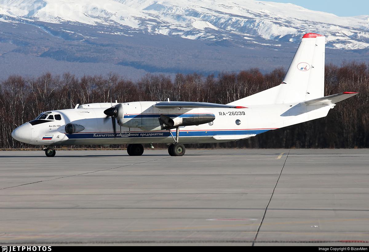 RA-26039 - Antonov An-26B-100 - Petropavlovsk-Kamchatskoe Aviation Enterprise