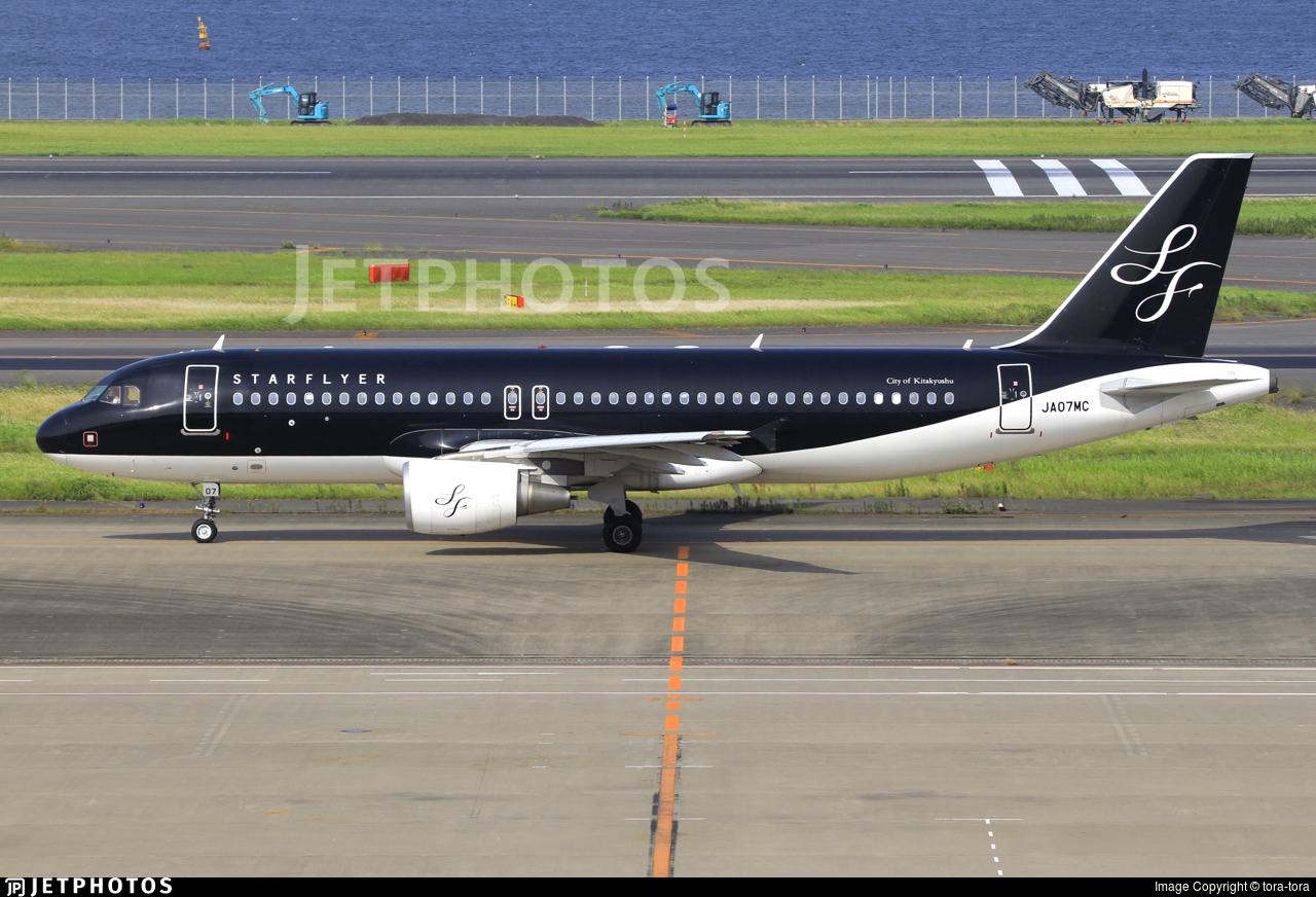 JA07MC - Airbus A320-214 - Starflyer