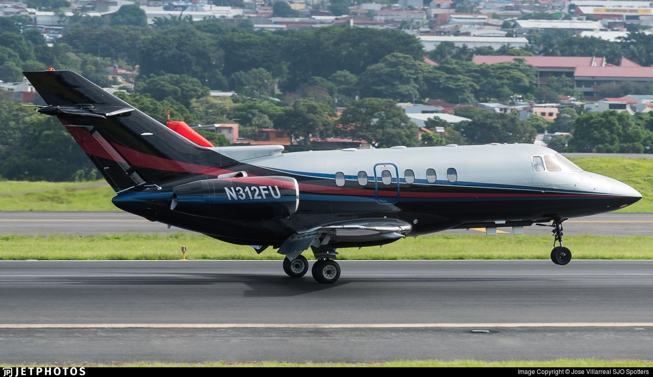 N312FU - Raytheon Hawker 800XP - IBC Airways