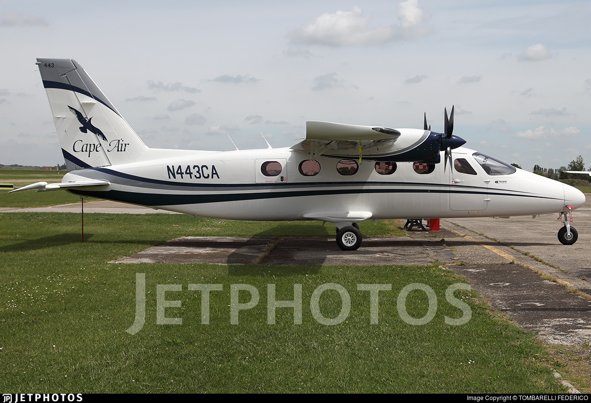 N443CA - Tecnam P2012 Traveller - Cape Air