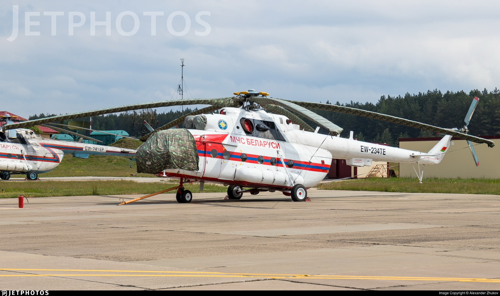 EW-234TE - Mil Mi-8MT Hip - Belarus - Ministry for Emergency Situations (MChS)