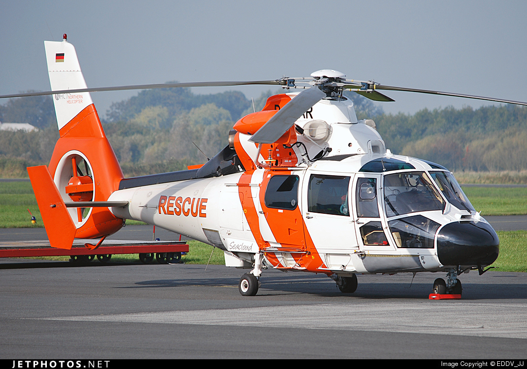 D-HOAR - Aérospatiale SA 365N2 Dauphin 2 - Northern Helicopter