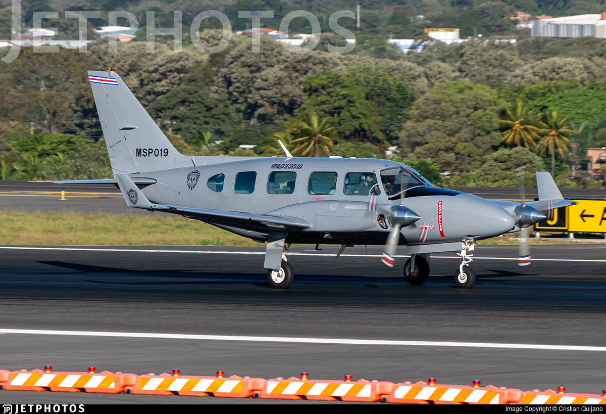 MSP019 - Piper PA-31-310 Panther Navajo - Costa Rica - Ministry of Public Security