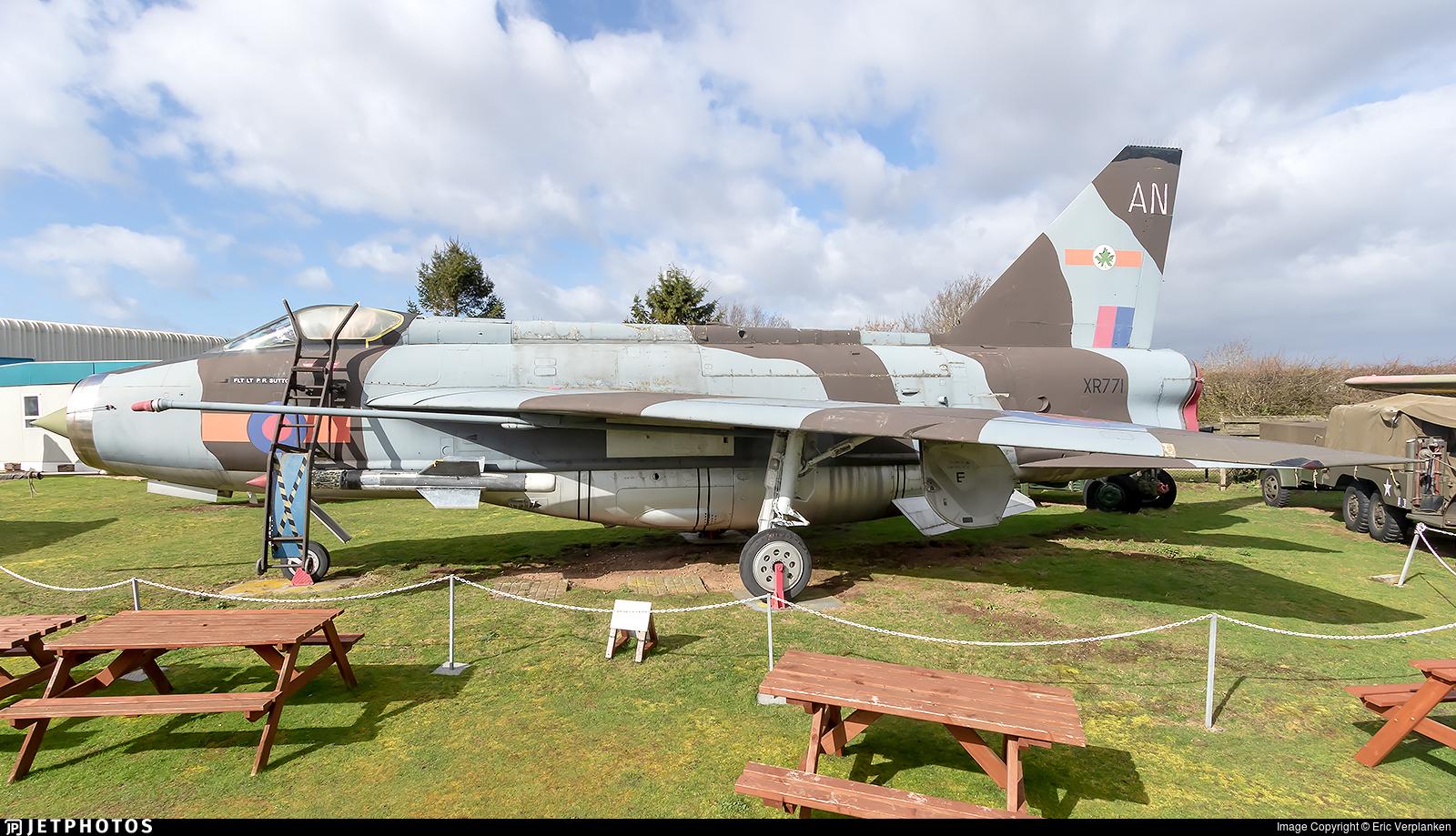 XR771 - English Electric Lightning F.6 - United Kingdom - Royal Air Force (RAF)