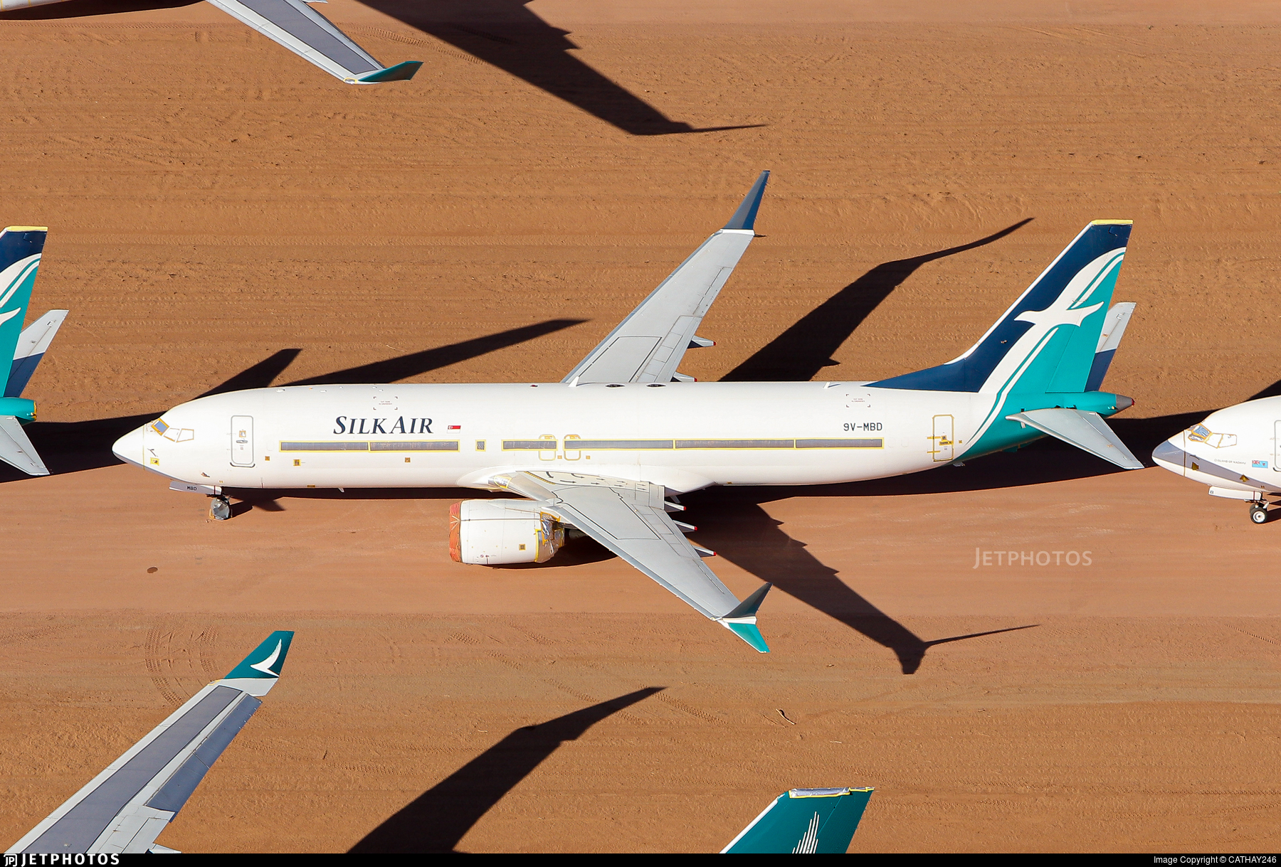 9V-MBD - Boeing 737-8 MAX - SilkAir