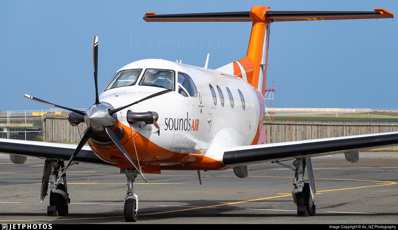 ZK-PLS - Pilatus PC-12/45 - Sounds Air