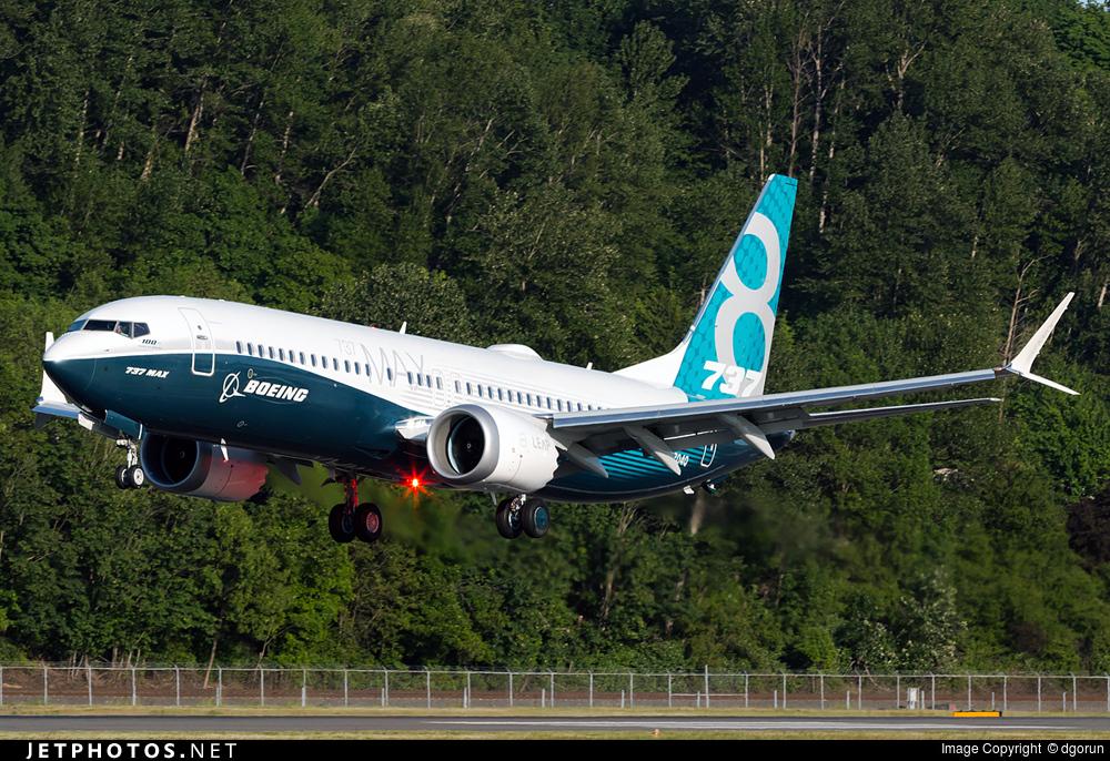 N8704Q - Boeing 737-8 MAX - Boeing Company