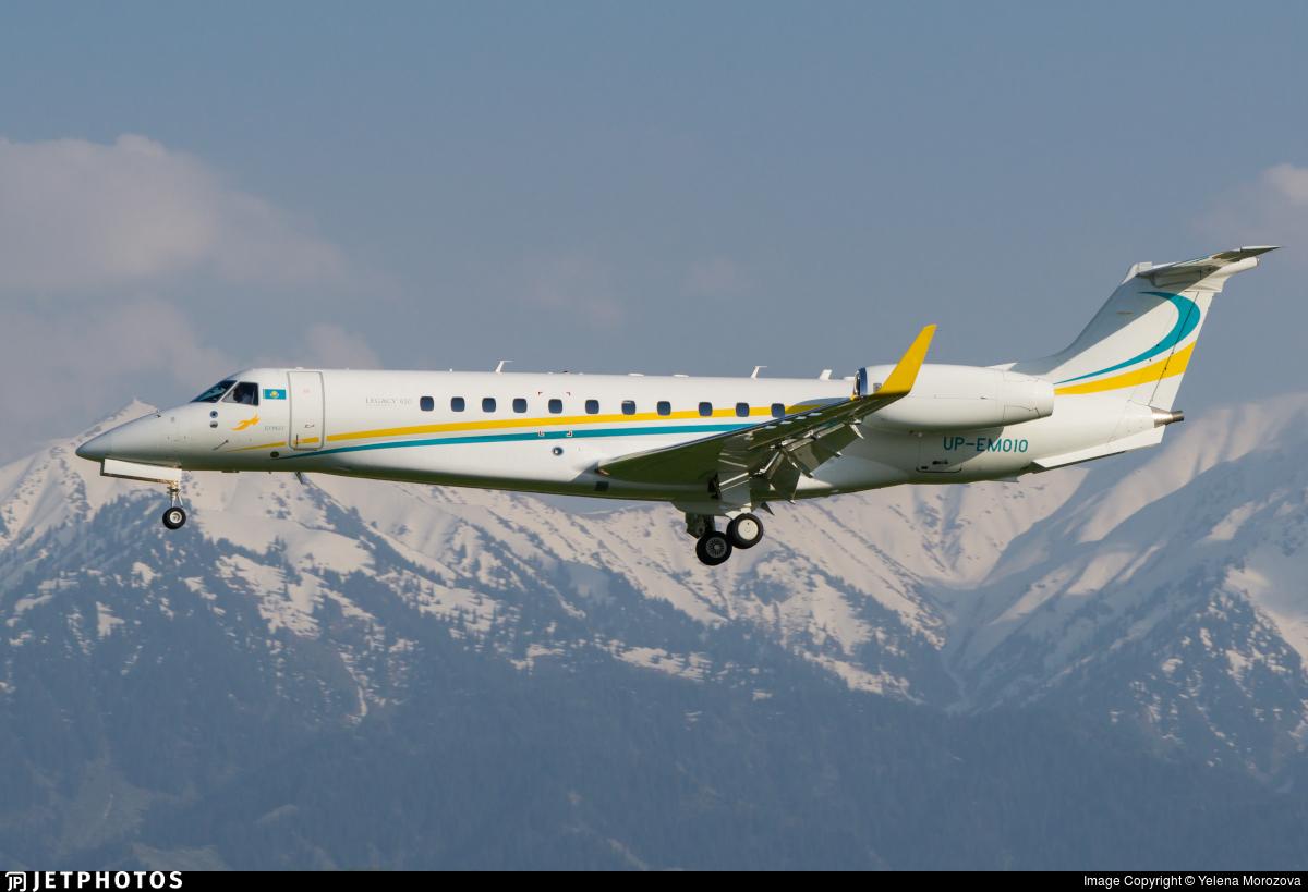 UP-EM010 - Embraer ERJ-135BJ Legacy 650 - Comlux KZ
