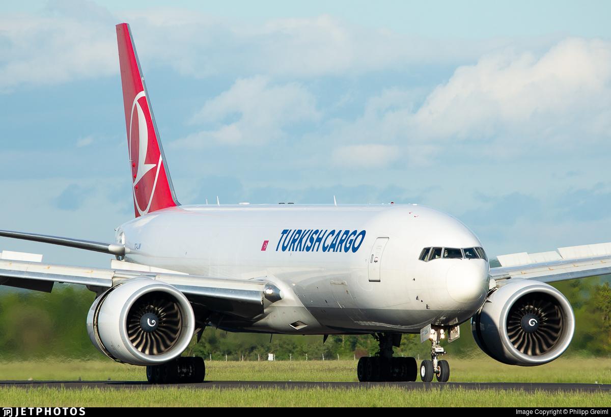 TC-LJN - Boeing 777-FF2 - Turkish Airlines Cargo