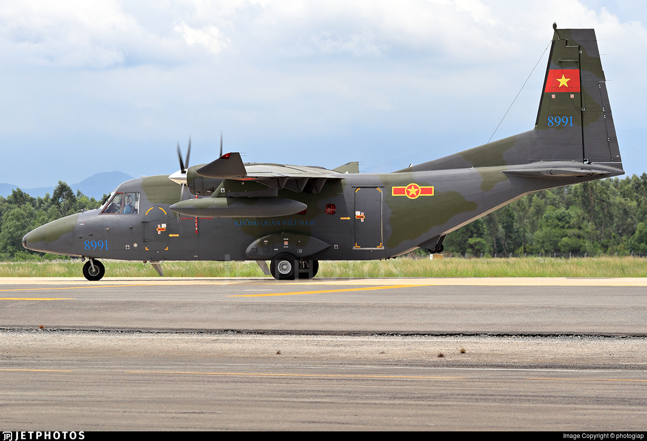 8991 - Indonesian Aerospace NC212i - Vietnam - Air Force