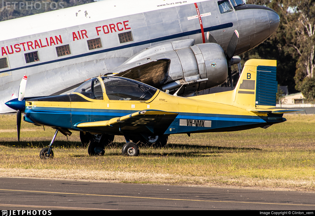 VH-NMX - Pacific Aerospace CT-4E Airtrainer - Private