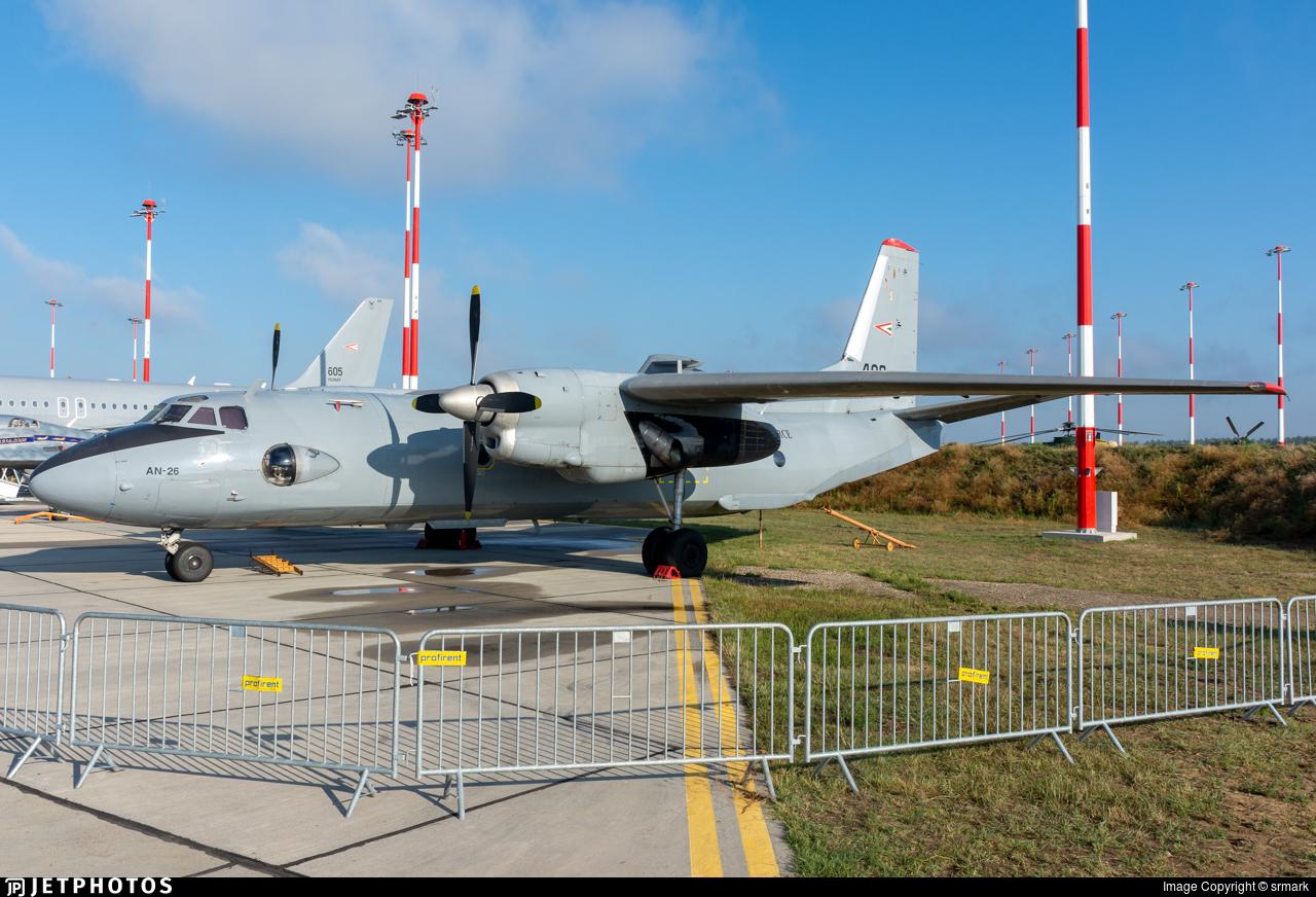 406 - Antonov An-26 - Hungary - Air Force