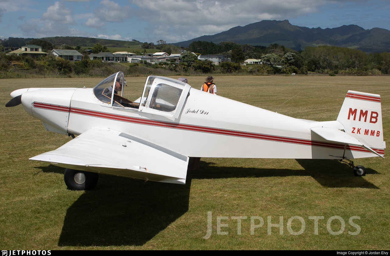 ZK-MMB - Jodel D-11 - Private