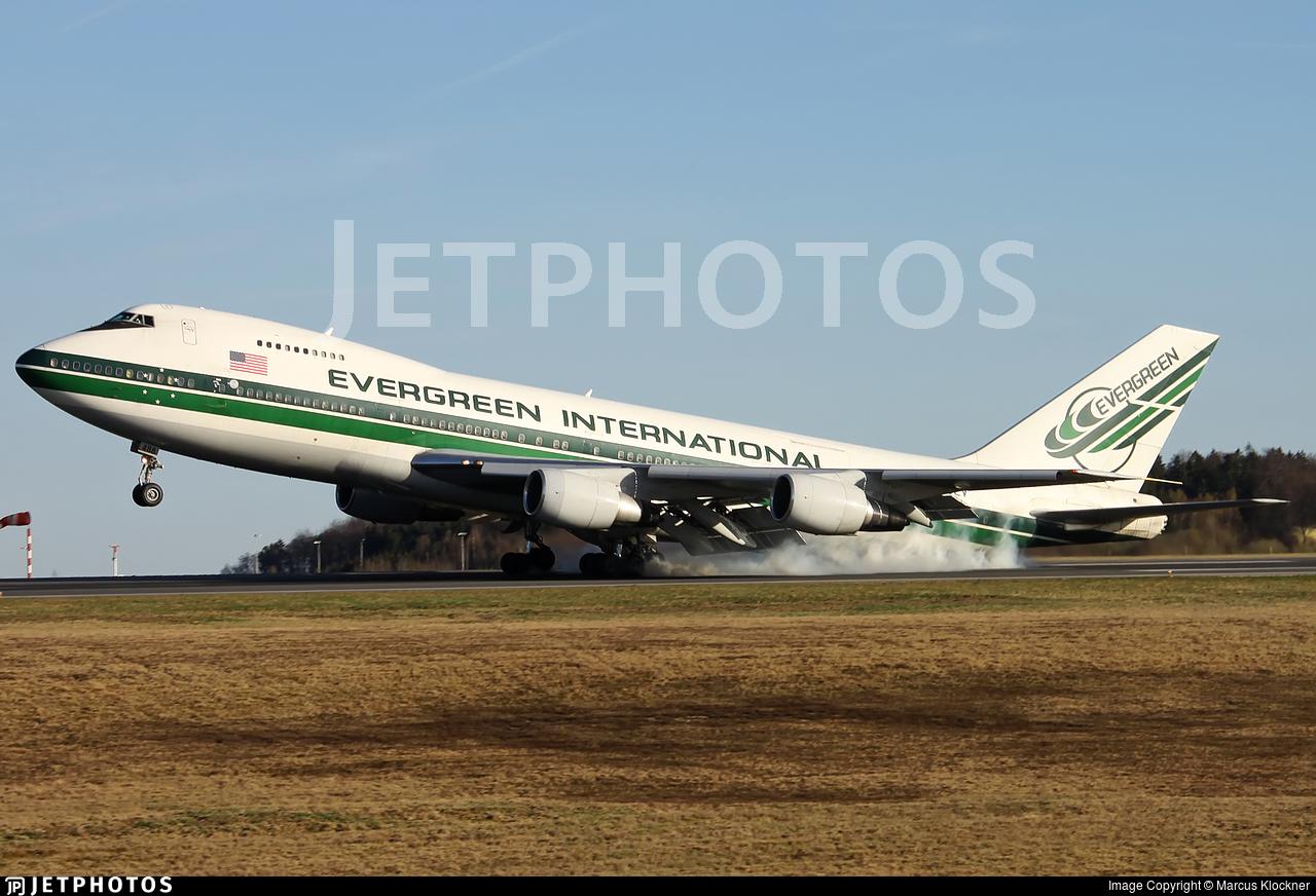N488EV - Boeing 747-230B(SF) - Evergreen International Airlines
