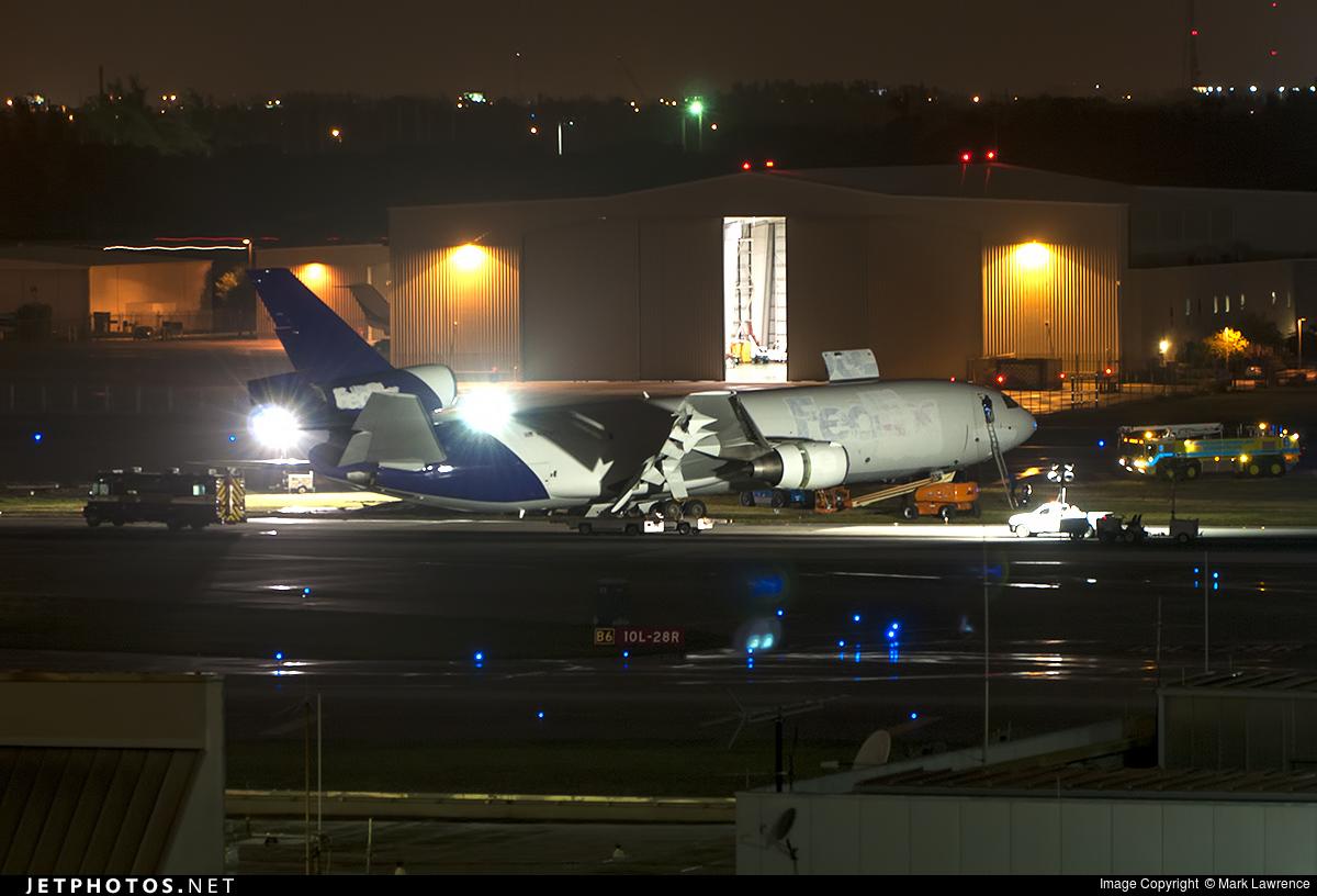 N370FE - McDonnell Douglas MD-10-10(F) - FedEx