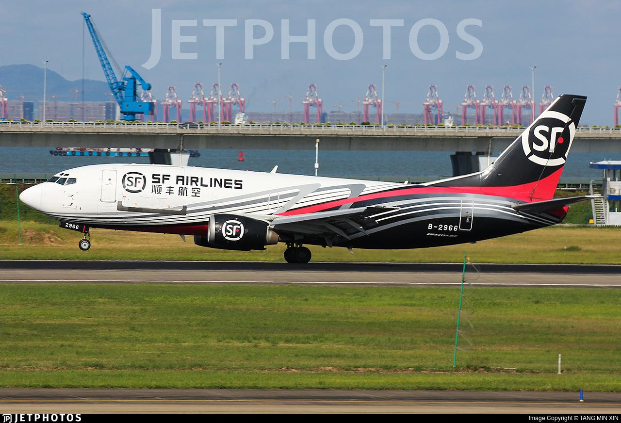 B-2966 - Boeing 737-33A(SF) - SF Airlines