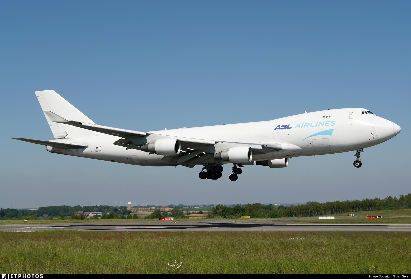 OE-IFB - Boeing 747-4B5ERF - ASL Airlines