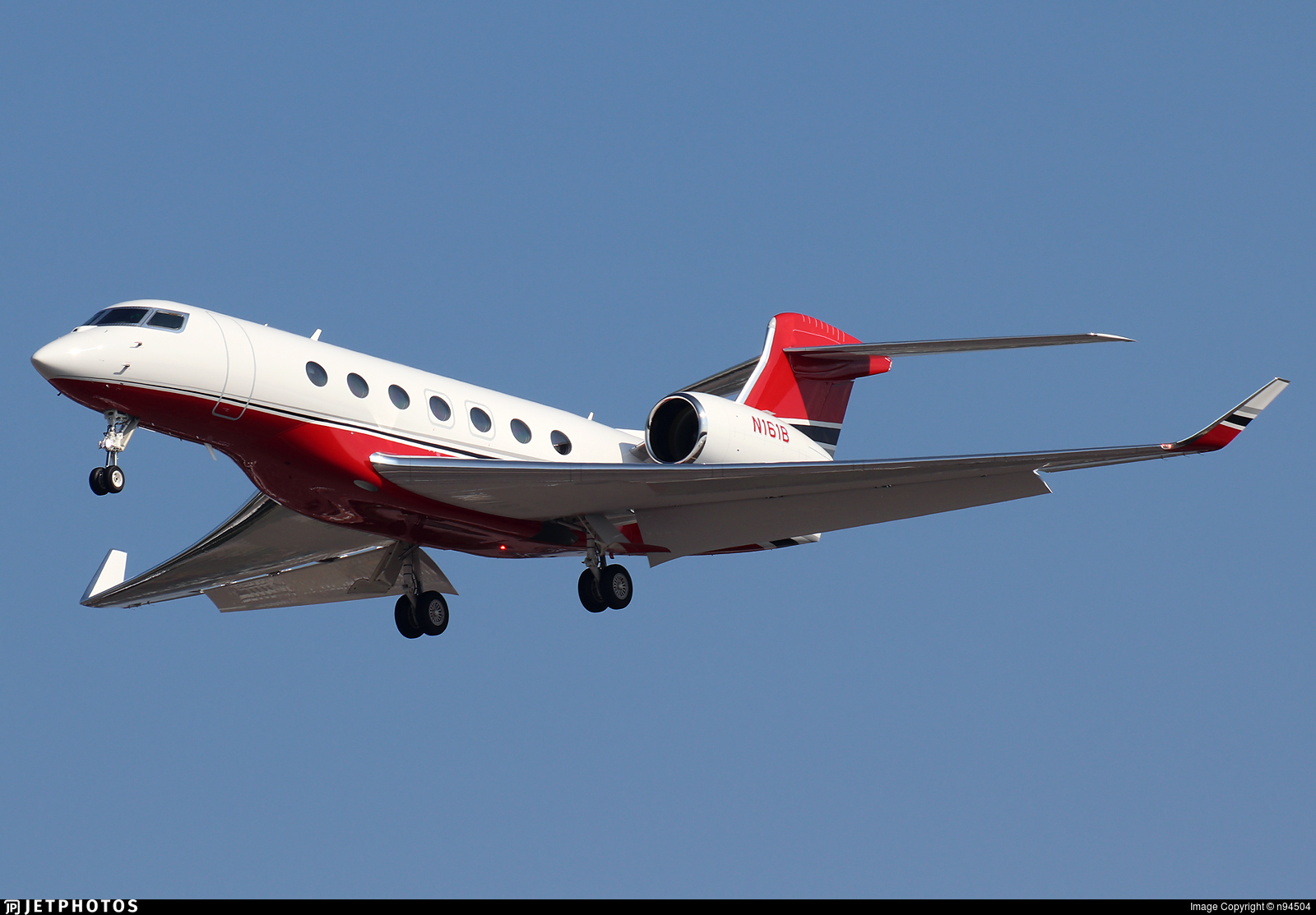 N161B - Gulfstream G600 - Private