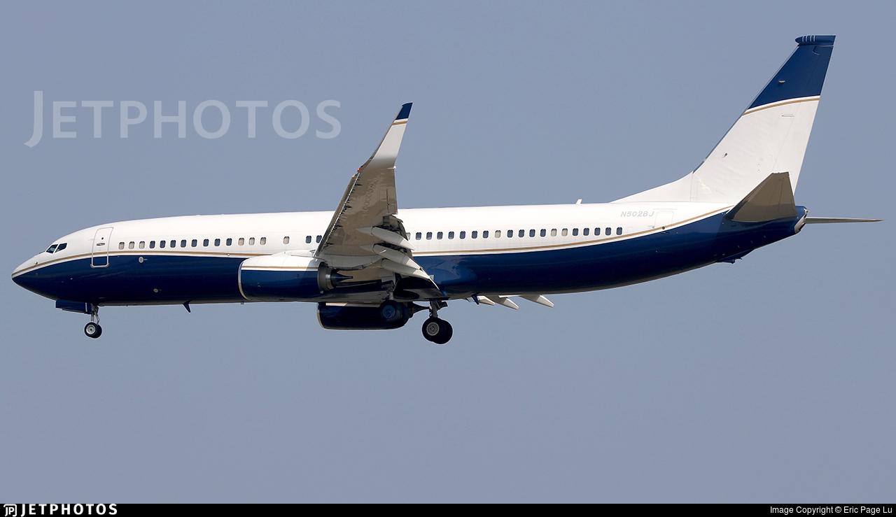 N502BJ - Boeing 737-8ZE(BBJ2) - Private