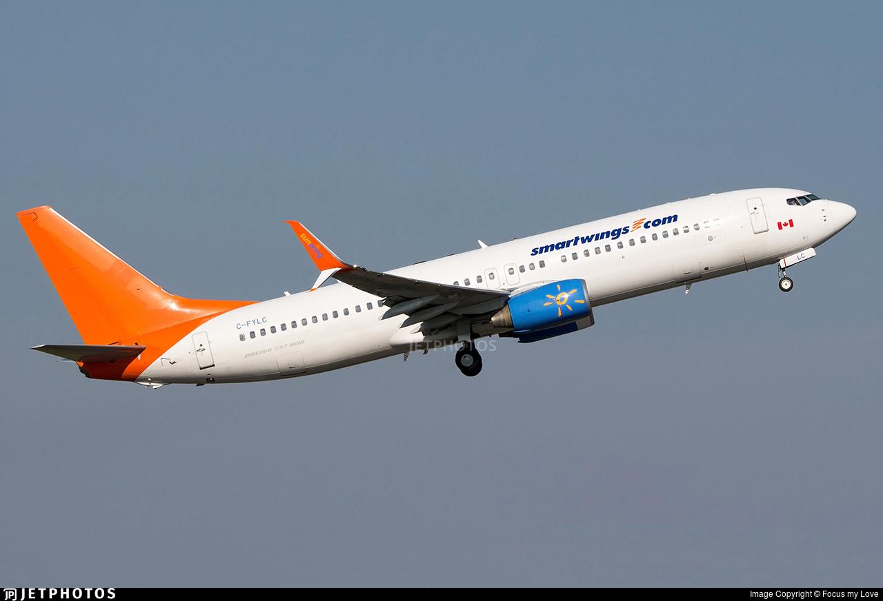 C-FYLC - Boeing 737-8BK - SmartWings (Sunwing Airlines)
