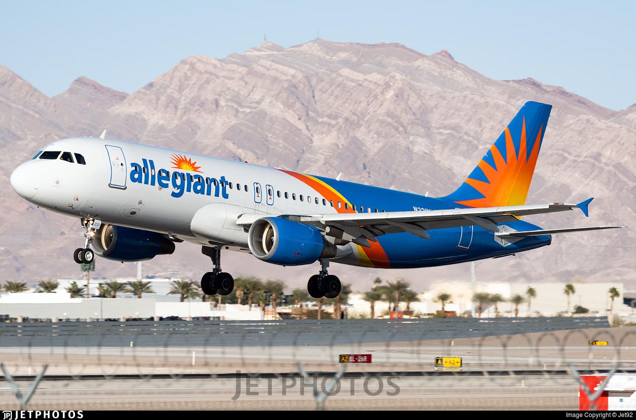 N221NV - Airbus A320-214 - Allegiant Air