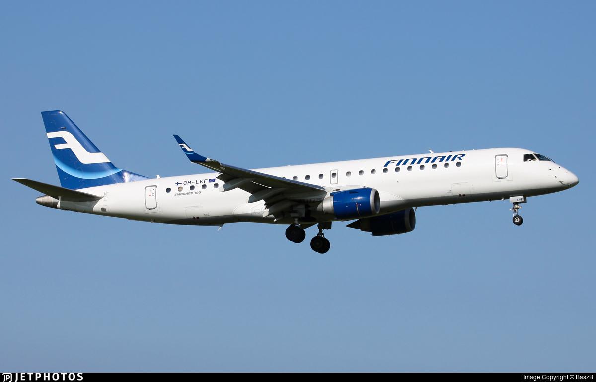 OH-LKF - Embraer 190-100LR - Finnair