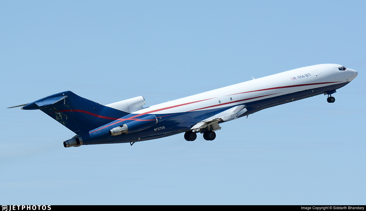 N727US - Boeing 727-223(Adv)(F) - USA Jet Airlines