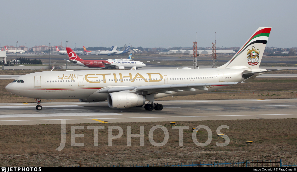 A6-EYU - Airbus A330-243 - Etihad Airways