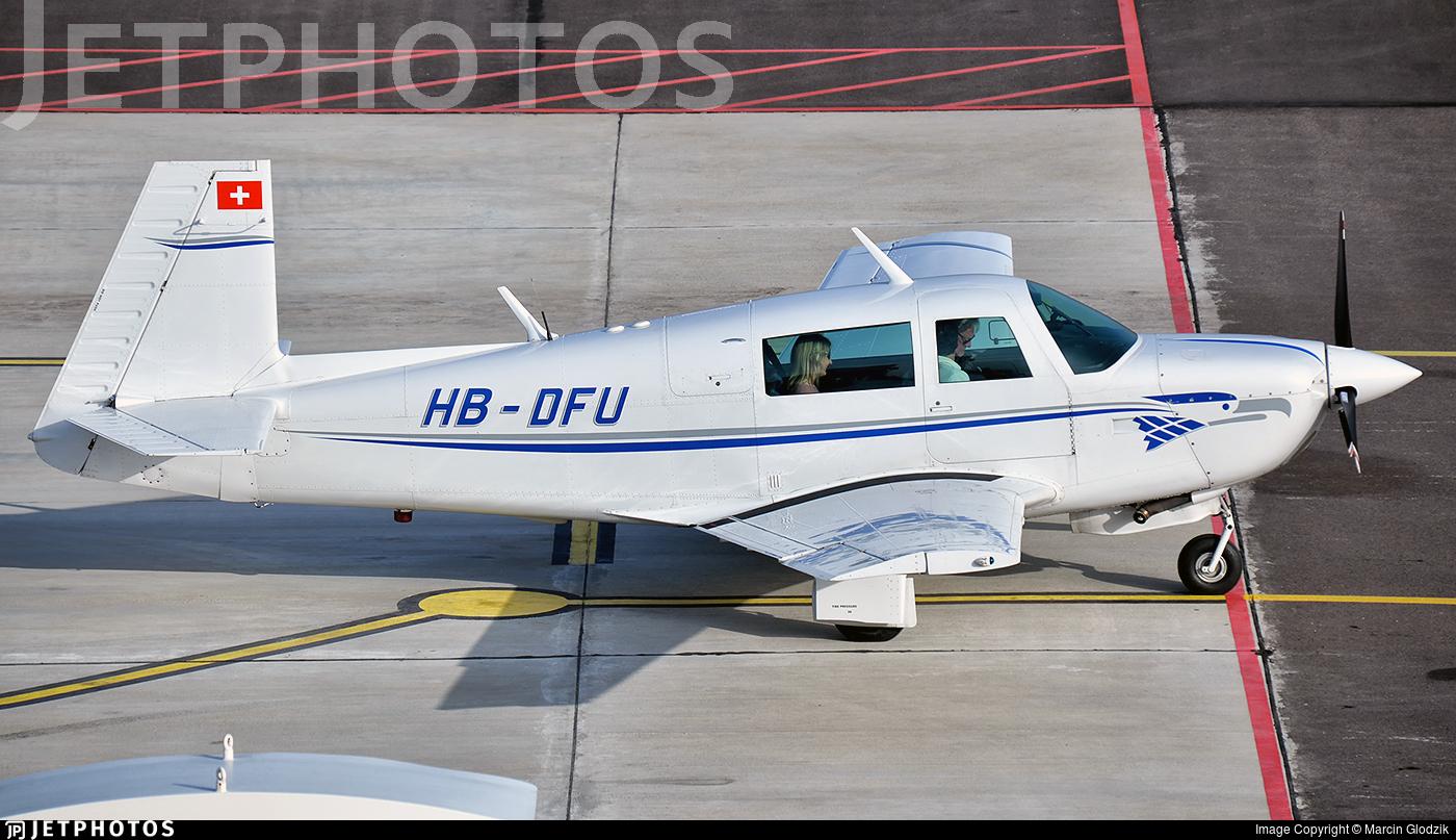 HB-DFU - Mooney M20J-201 - Private
