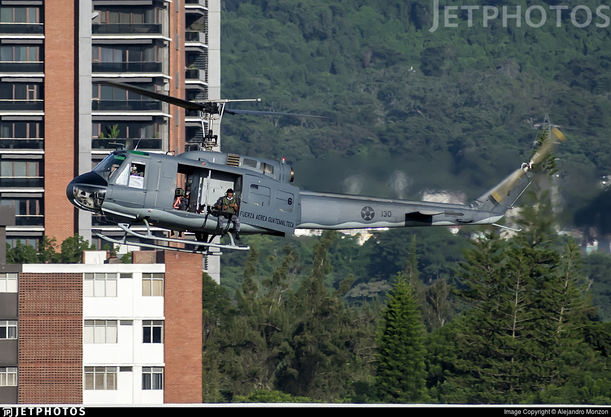 130 - Bell UH-1H Iroquois - Guatemala - Air Force