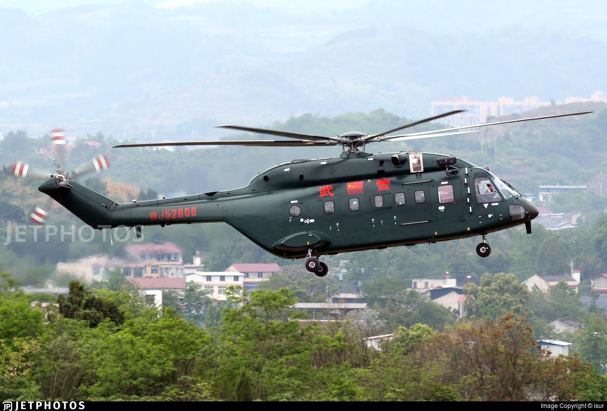 WJ52808 - Changhe Z-8G - China - Police