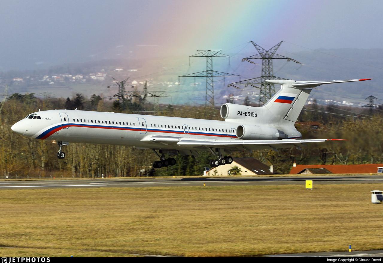 RA-85155 - Tupolev Tu-154M - Russia - Air Force