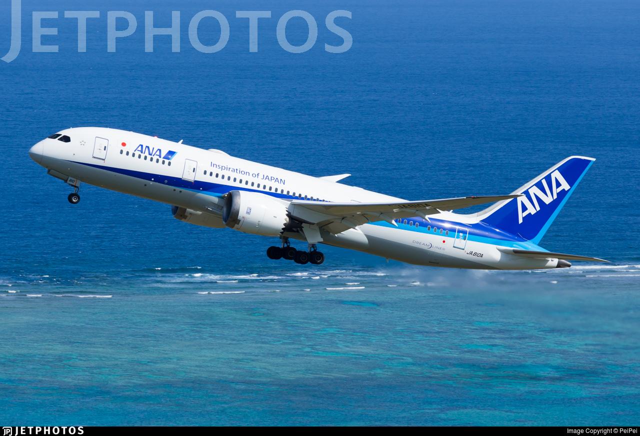 JA810A - Boeing 787-8 Dreamliner - All Nippon Airways (ANA)