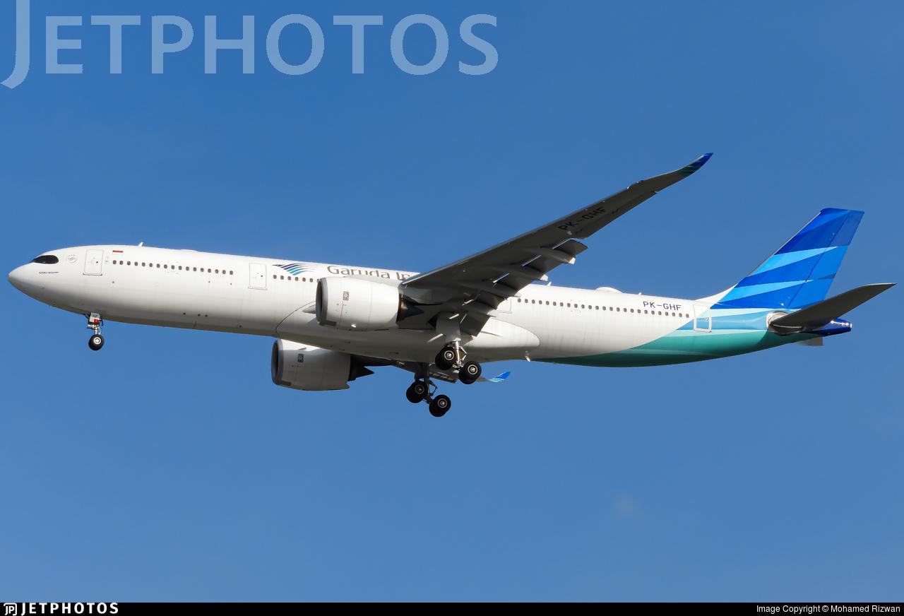 PK-GHF - Airbus A330-941 - Garuda Indonesia