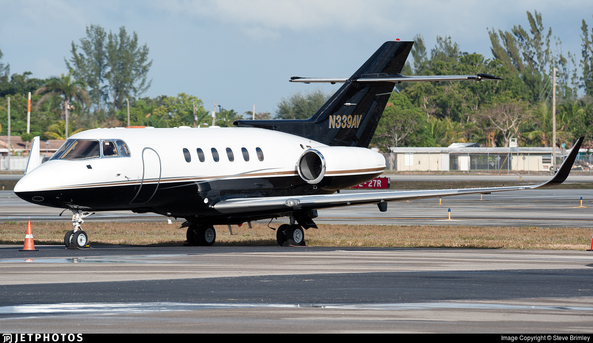 N339AV - Raytheon Hawker 800 - Private