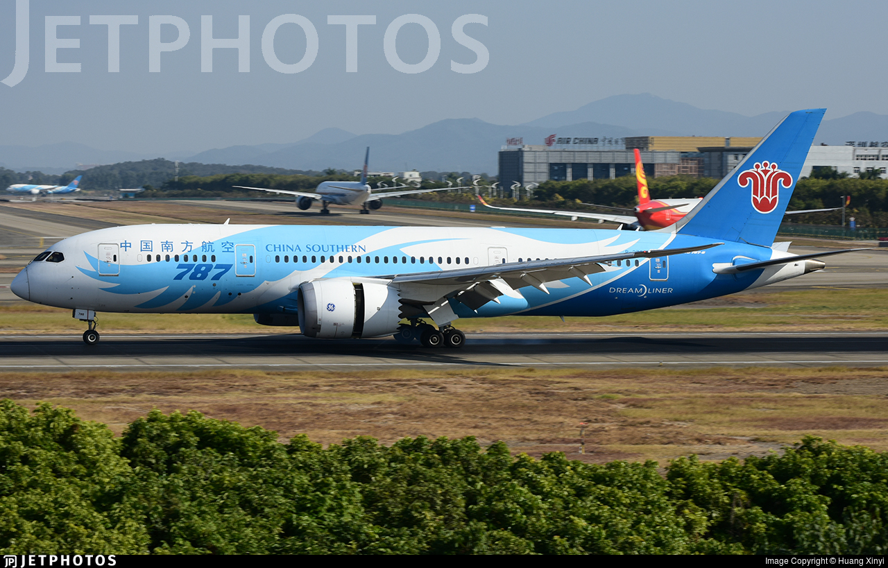 B-2788 - Boeing 787-8 Dreamliner - China Southern Airlines