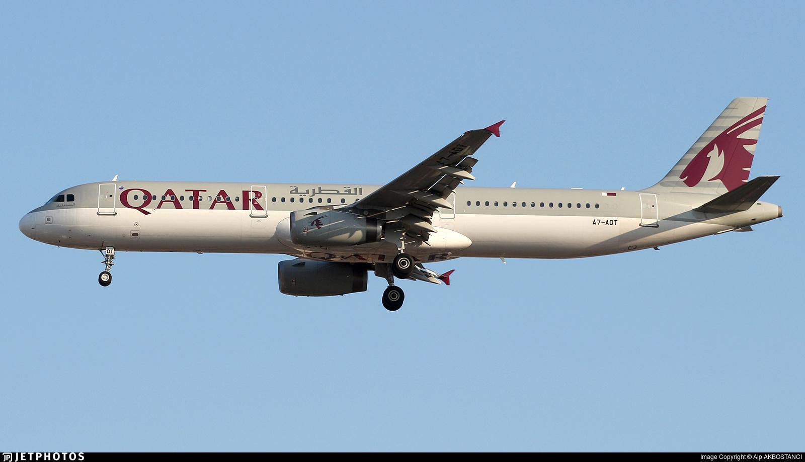 A7-ADT | Airbus A321-231 | Qatar Airways | Alp AKBOSTANCI | JetPhotos