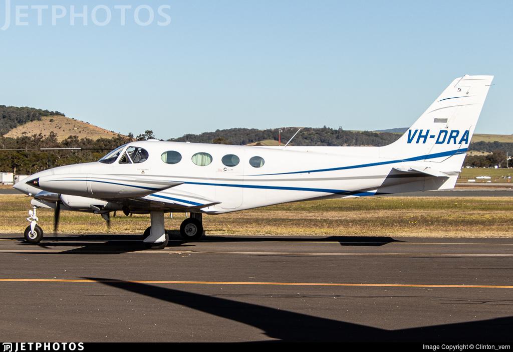 VH-DRA - Cessna 340A - Private