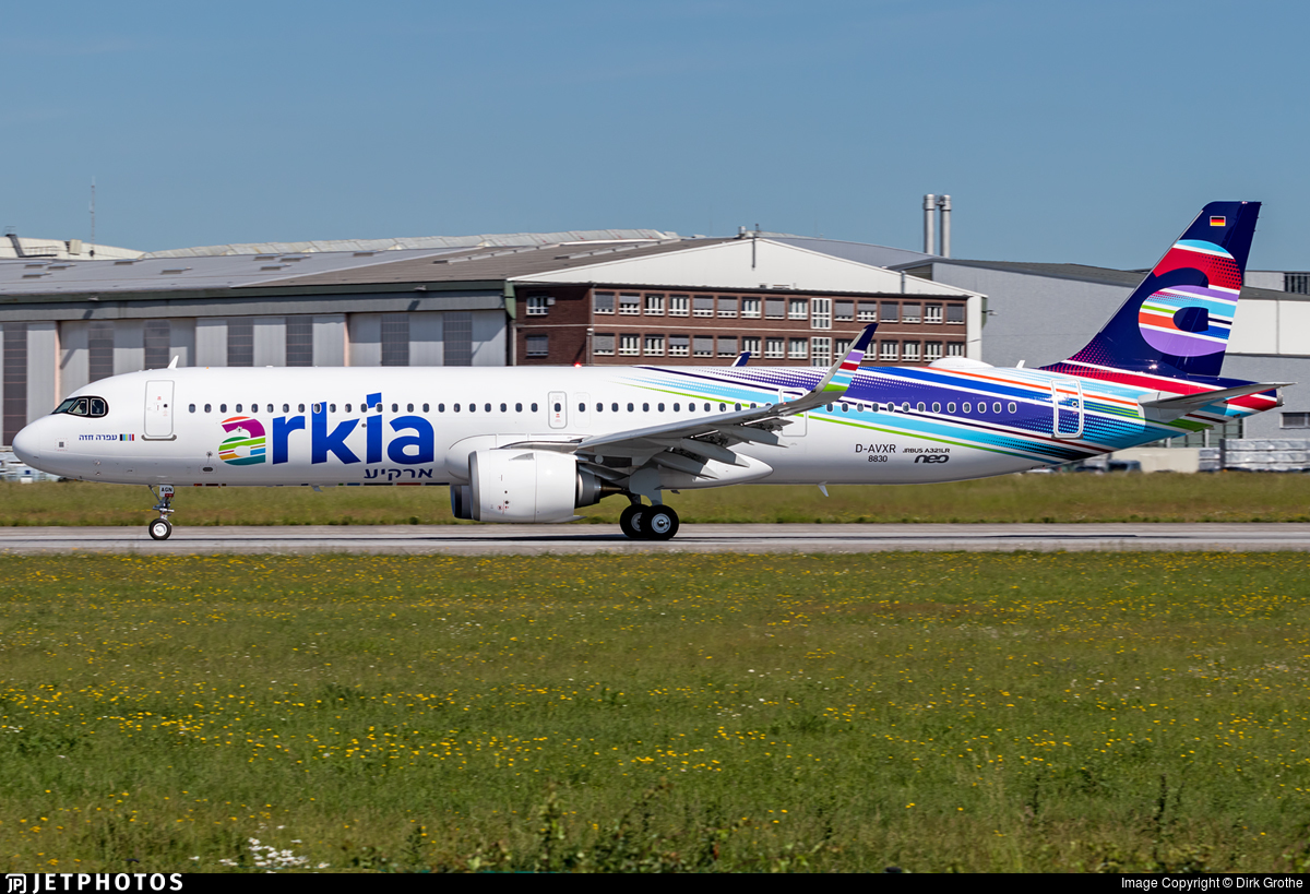 D-AVXR - Airbus A321-251NX - Arkia Israeli Airlines
